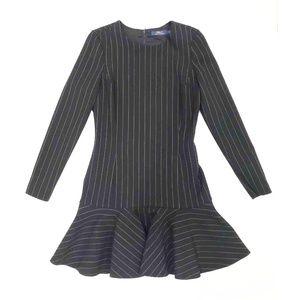 Polo Ralph Lauren Black Pinstriped Dress | Size: 2